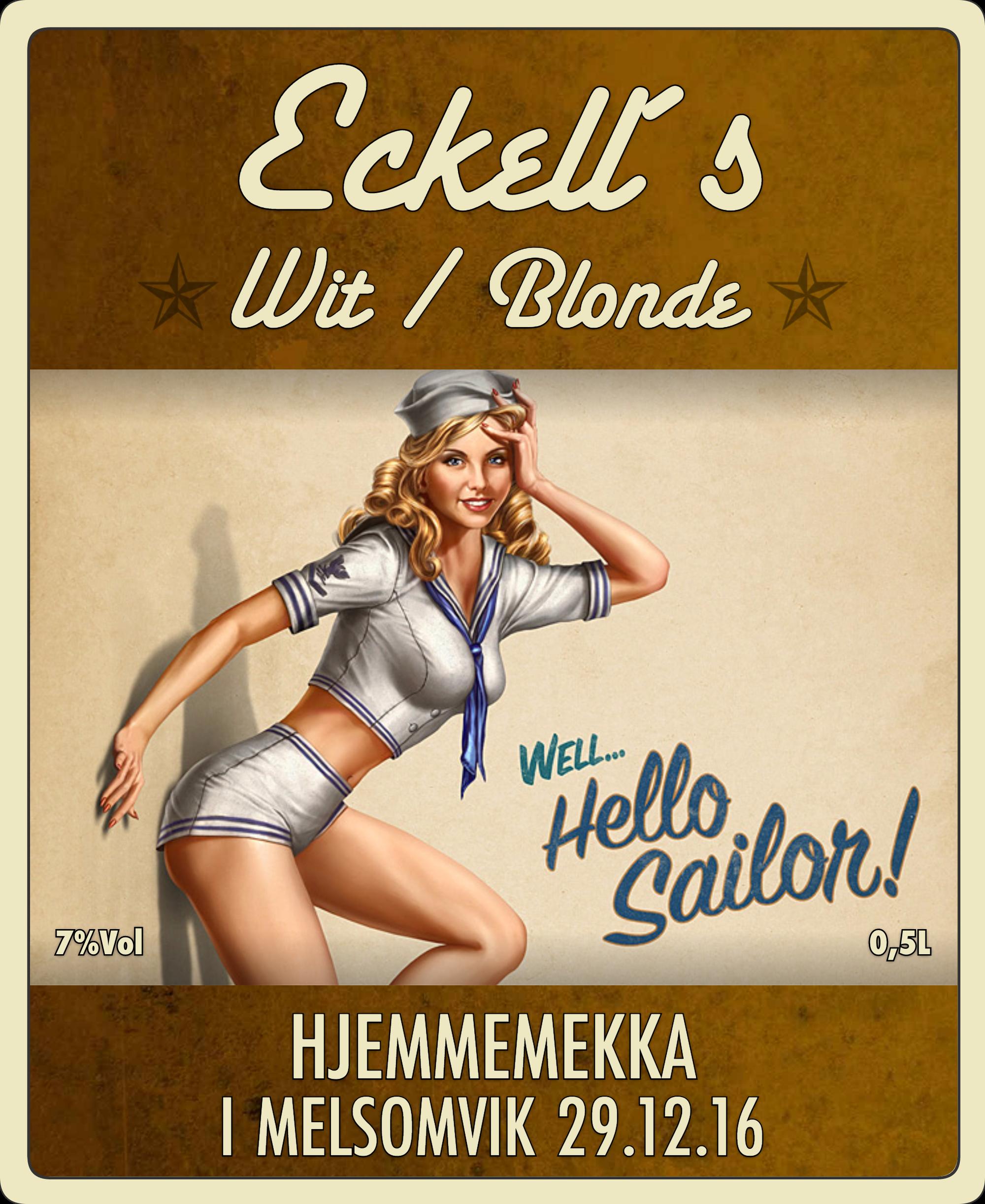 wit blonde – Fossnes Nano bryggeri